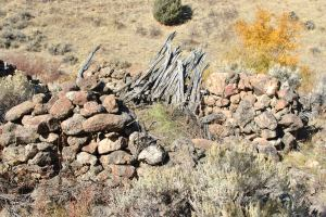 This is the original homestead up on the mountain. A 12x14 dry laid rock house